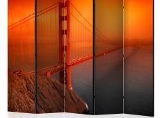 Paraván - Golden Gate Bridge II [Room Dividers]